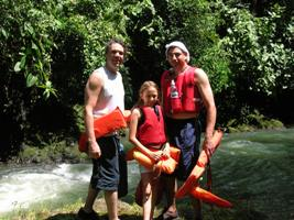 osa peninsula costa rica adventure rainforest river float