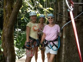 canopy tour osa peninsula costa rica adventure tour