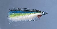 Abel Anchovie Fly for Yellowfin Tuna Flyfishing Costa Rica