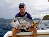 African Pompano Costa Rica Chater Fishing